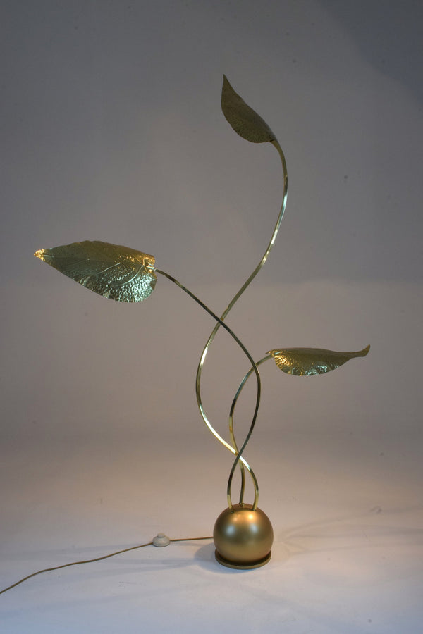 Shop 20th Century Rare Brass Floor Lamp by Tommaso Barbi, 1970's - Spirit Gallery