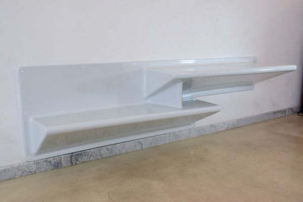 Shop 20th Century Vintage Fiberglass Shelf and Desk by Knoll - Spirit Gallery