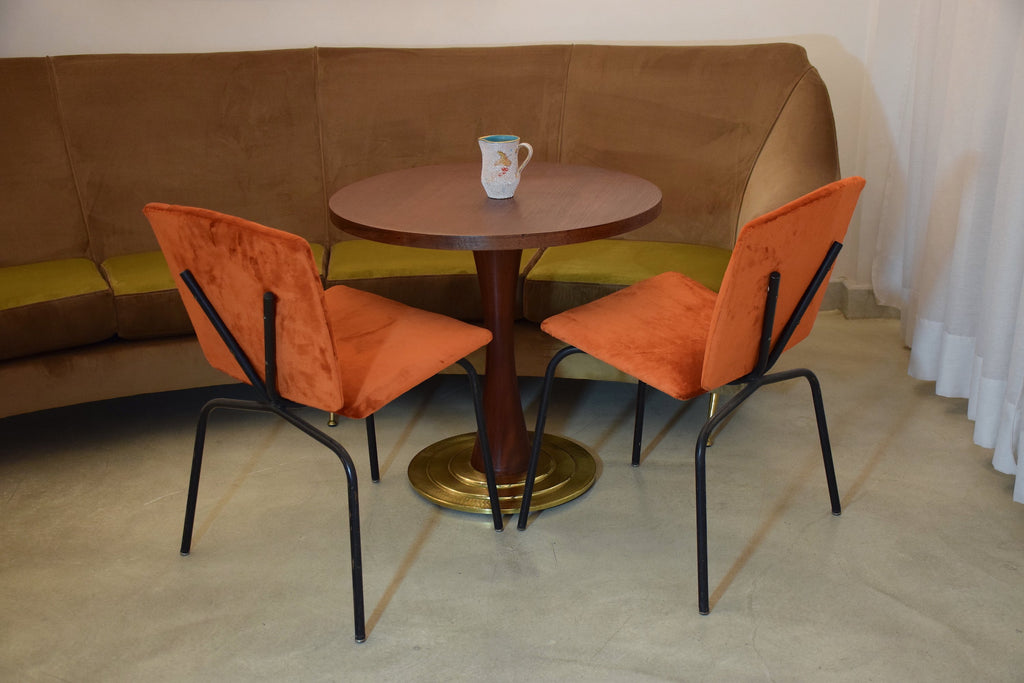 20th Century Vintage French Chairs, Set of Two, 1960-1970's - Spirit Gallery