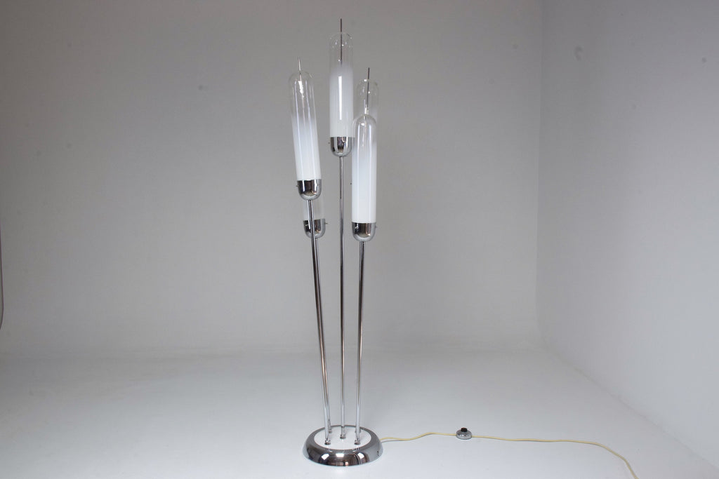 20th Century Vintage Murano Floor Lamp by Carlo Nason for Mazzega, 1970's - Spirit Gallery