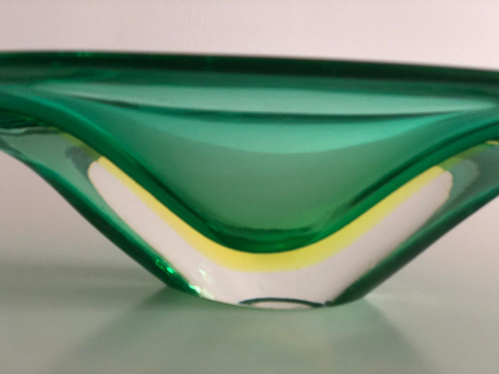 Shop Italian Centerpiece Murano Bowl by Flavio Poli for Seguso Vetri d'Arte, 1950's - Spirit Gallery