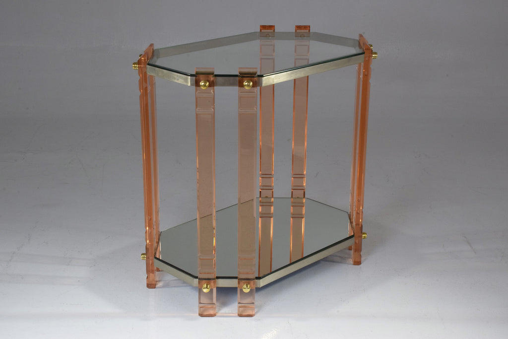Shop French Vintage Plexiglass Bar Cart, 1970's - Spirit Gallery