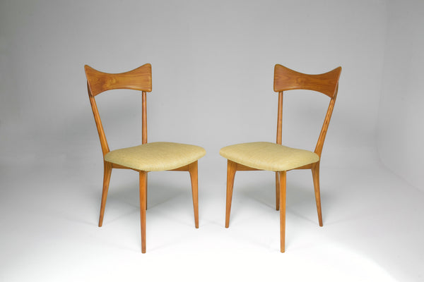 1950's Pair of Italian Chairs by Ico and Luisa Parisi for Ariberto Colombo - Spirit Gallery