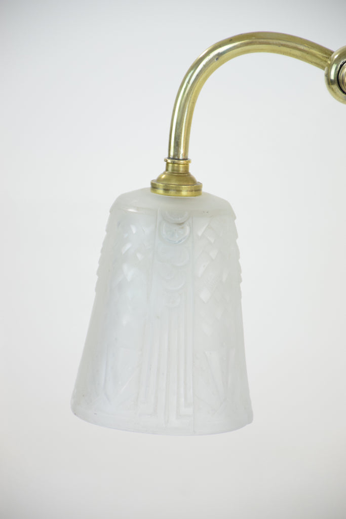 Shop French Brass Table Lamp by Frères Muller, 1930's - Spirit Gallery