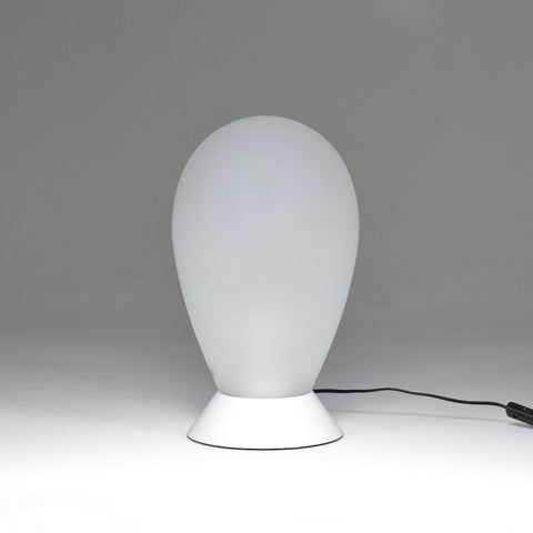 Shop 1970s Carlo Nason Table Lamp In White Murano Glass - Spirit Gallery