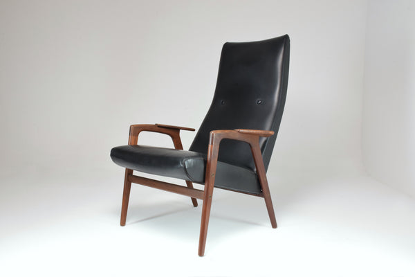 1960's Ruster Lounge Chair by Yngve Ekström for Pastoe - Spirit Gallery