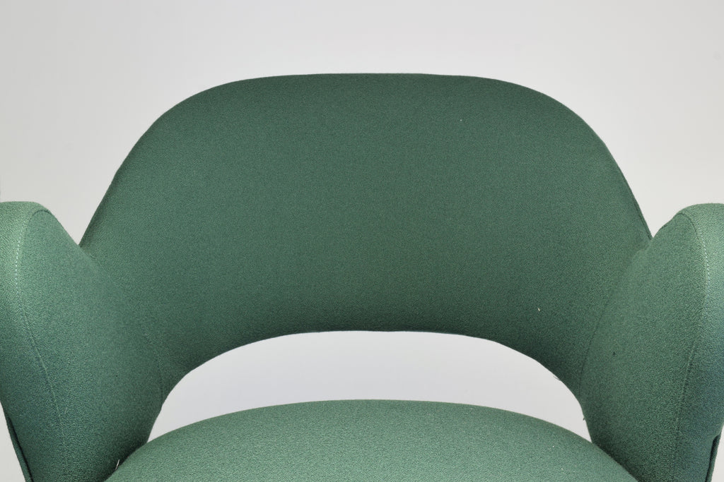 Shop 1950s Pair of Italian Green Armchairs - Spirit Gallery