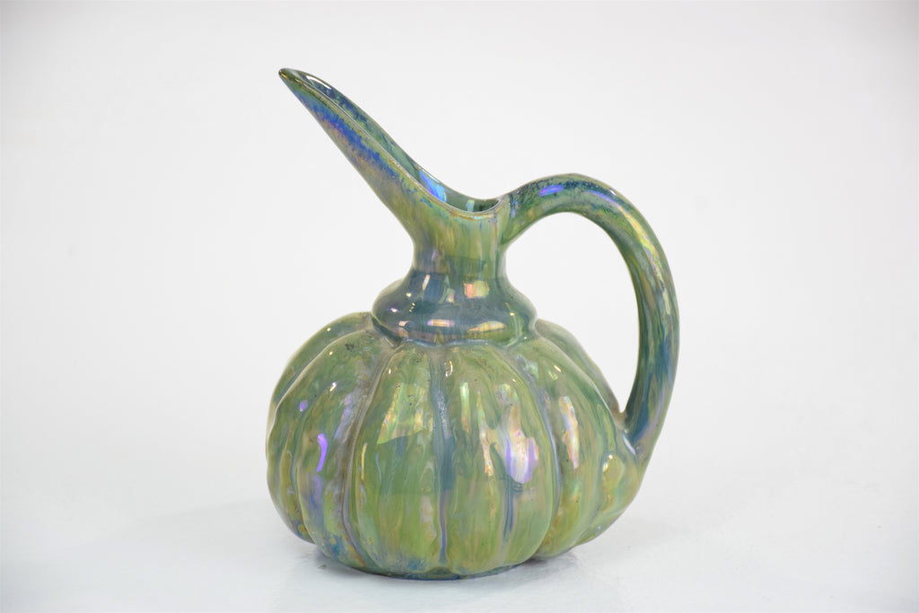 French Vintage Iridescent Art Nouveau Ceramic Jug by Alphonse Cytere, 1910 - Spirit Gallery