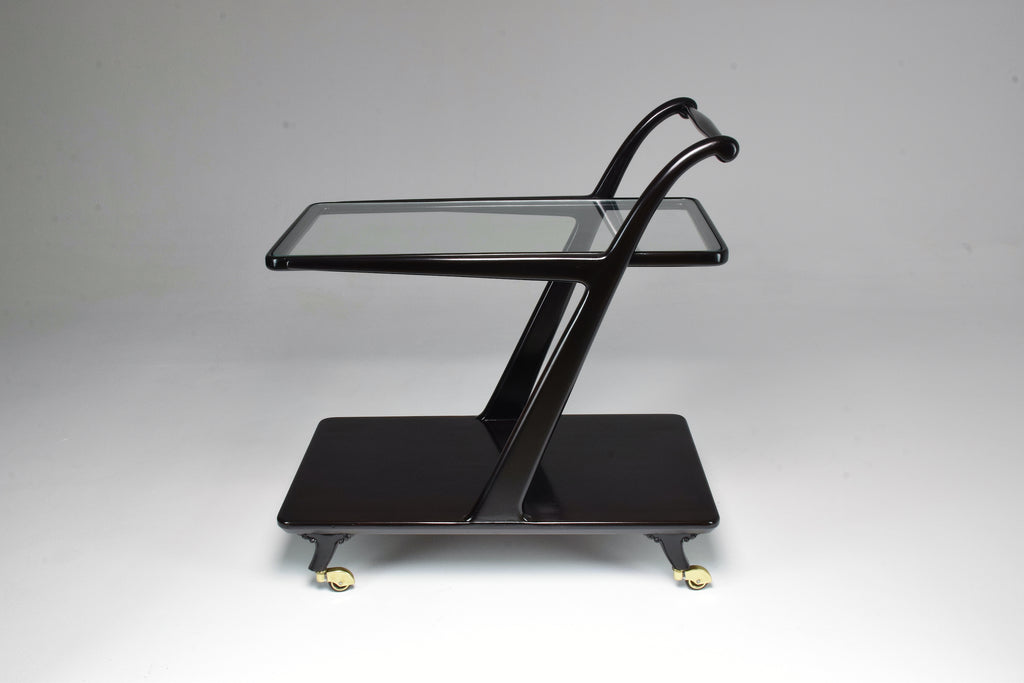 1950's Italian Ico Parisi Mid-Century Bar Cart - Spirit Gallery