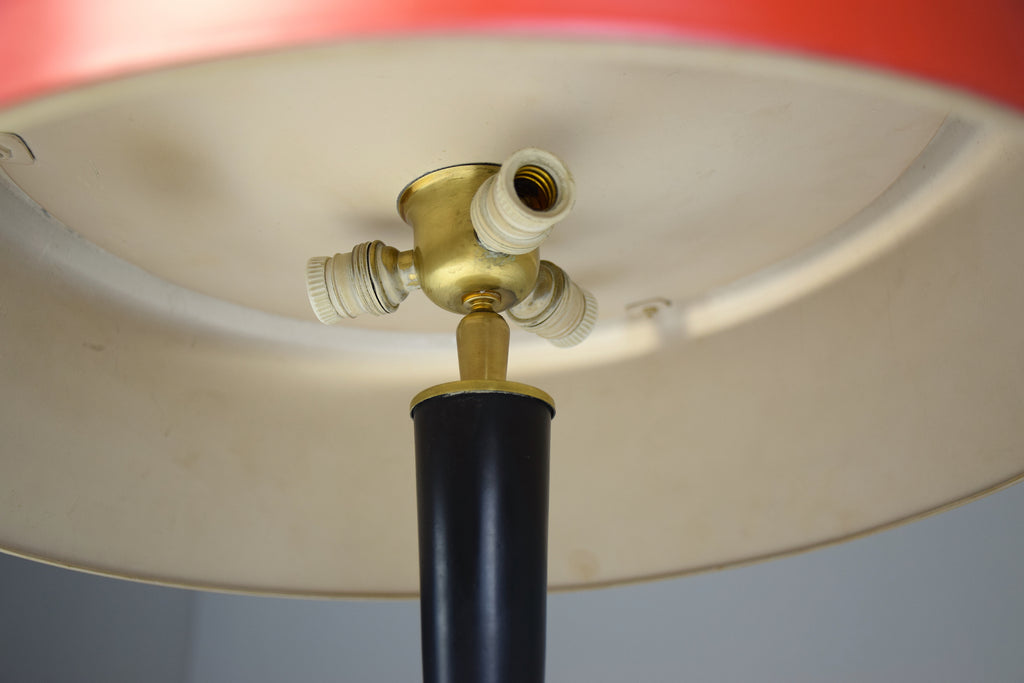 Shop 1950s Midcentury Modern Italian Oscar Torlasco Brass Table Lamp - Spirit Gallery