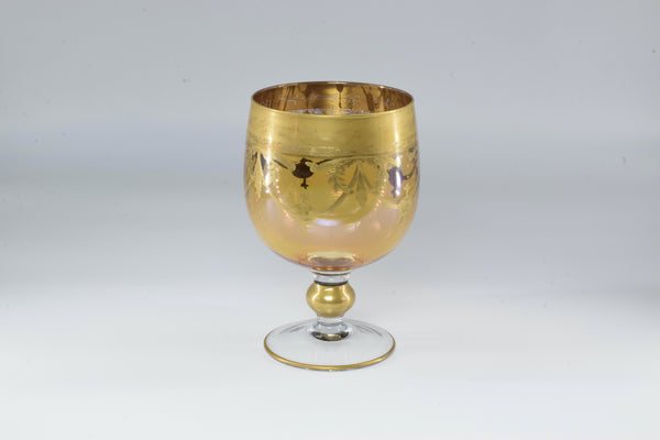 1950's Italian Gold Plated Decorative Cup - Spirit Gallery