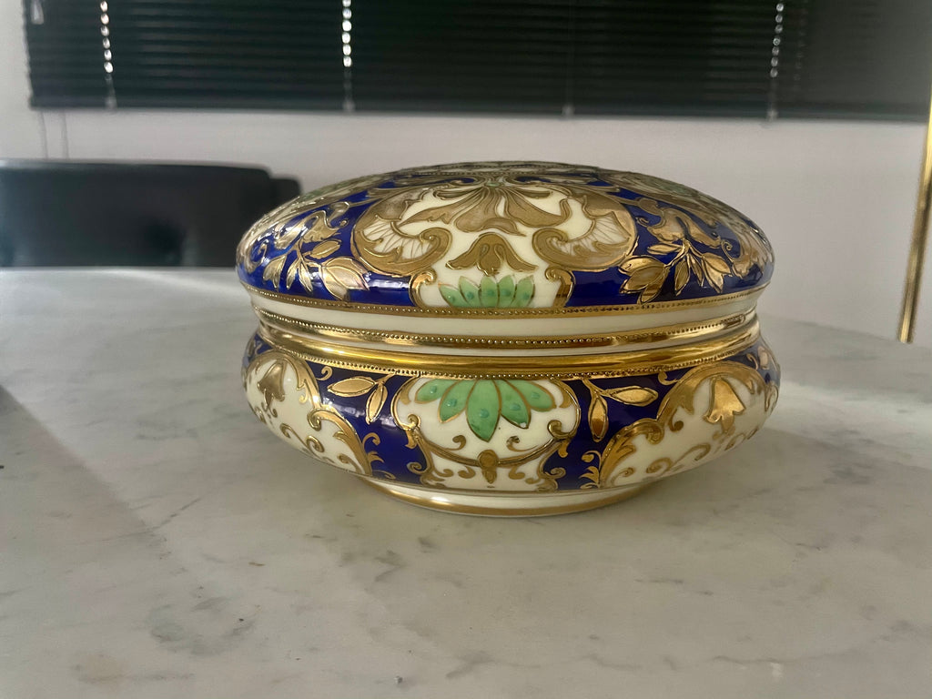 1940's Japanese Porcelain Lidded Bowl by Noritake - Spirit Gallery