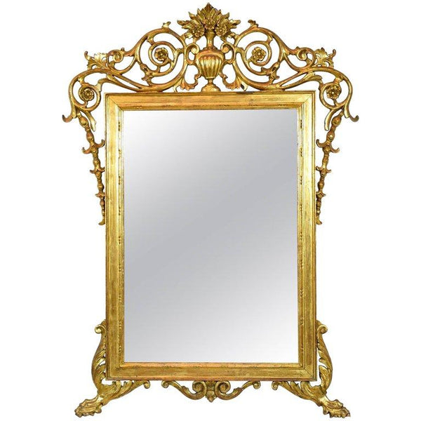Antique 19th Century Italian Giltwood Mirror - Spirit Gallery