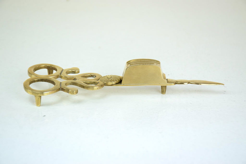 Antique Brass Wick Trimmer - Spirit Gallery