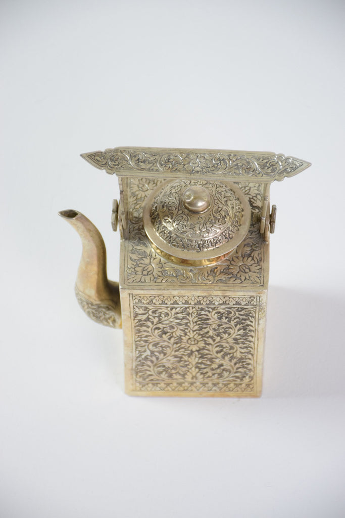 Shop Antique Cambodian Silver Teapot - Spirit Gallery
