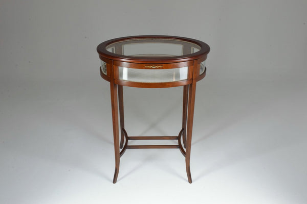 Antique Edwardian Vitrine Table - Spirit Gallery