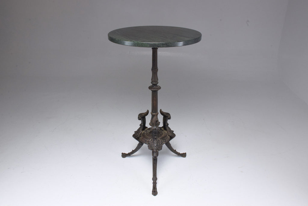 Shop Antique Napoleon III Gueridon Table with Marble Top - Spirit Gallery