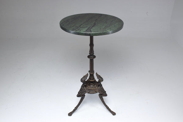 Antique Napoleon III Gueridon Table with Marble Top - Spirit Gallery