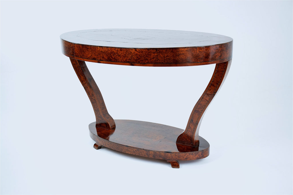 Shop Artisanal Thuya Coffee Table from Essaouira, 1930's - Spirit Gallery