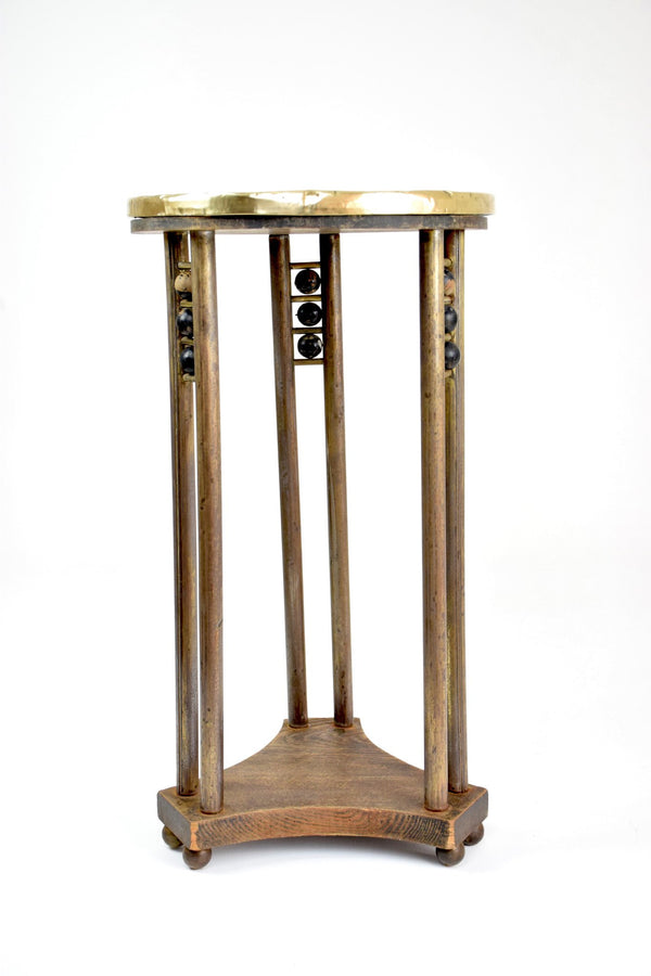 Austrian Secessionist Period Side Table or Pedestal Attributed to Joseph Hoffman - Spirit Gallery
