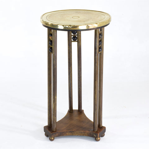 Shop Austrian Secessionist Period Side Table or Pedestal Attributed to Joseph Hoffman - Spirit Gallery
