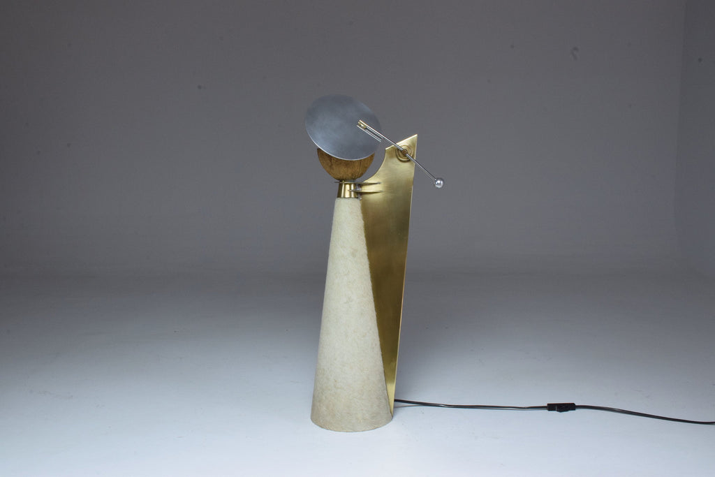 Shop Coconut Lamp by Pucci de Rossi, France, 1980's - Spirit Gallery