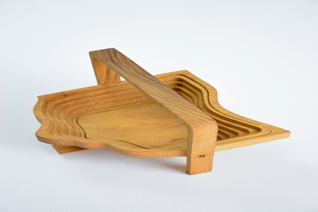 Collapsible Bread Basket by John Keim, 1994 - Spirit Gallery