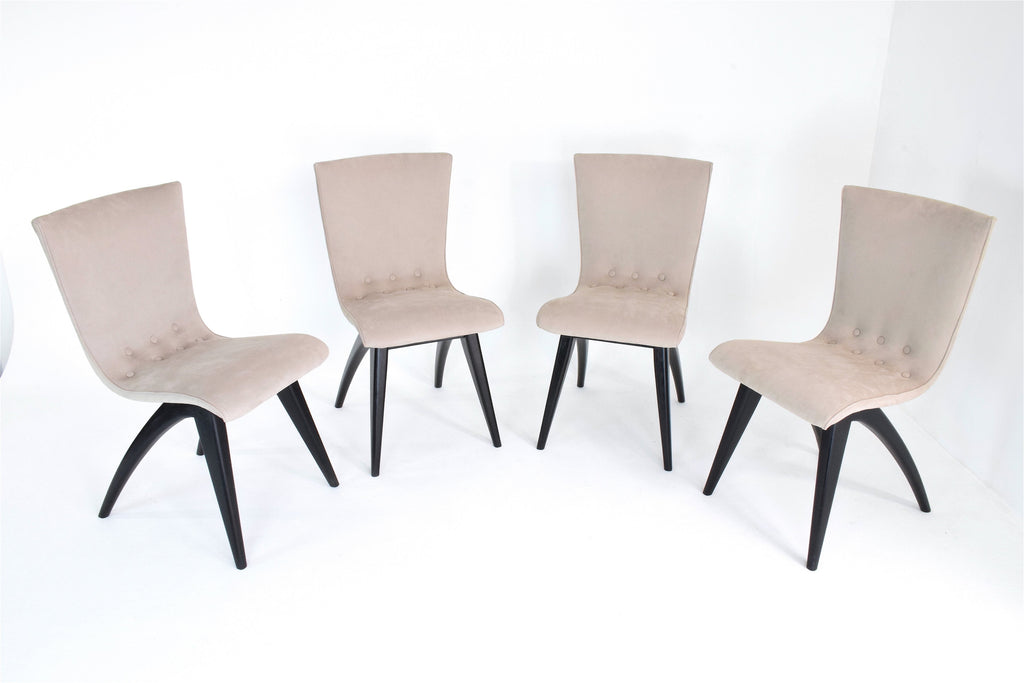 Shop Dutch Dining Chairs by C.J Van OS, Set of 4, 1950's - Spirit Gallery