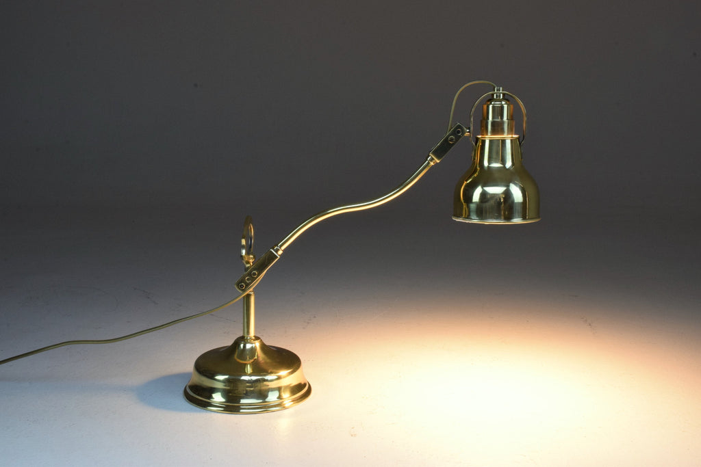 Early 20th Century French Brass Lamp - Spirit Gallery