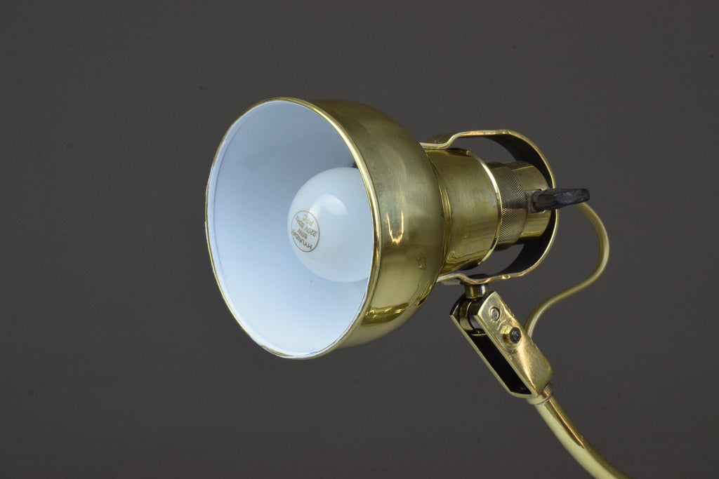 Shop Early 20th Century French Brass Lamp - Spirit Gallery