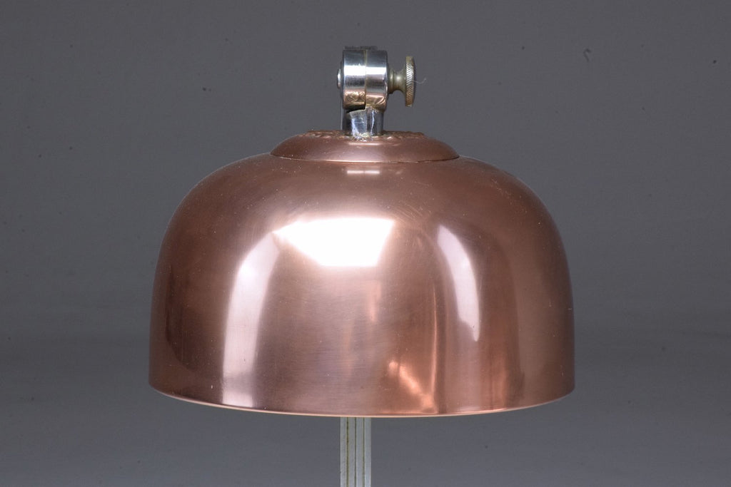 Shop French Art Deco Copper Brass Table Lamp, 1930's - Spirit Gallery