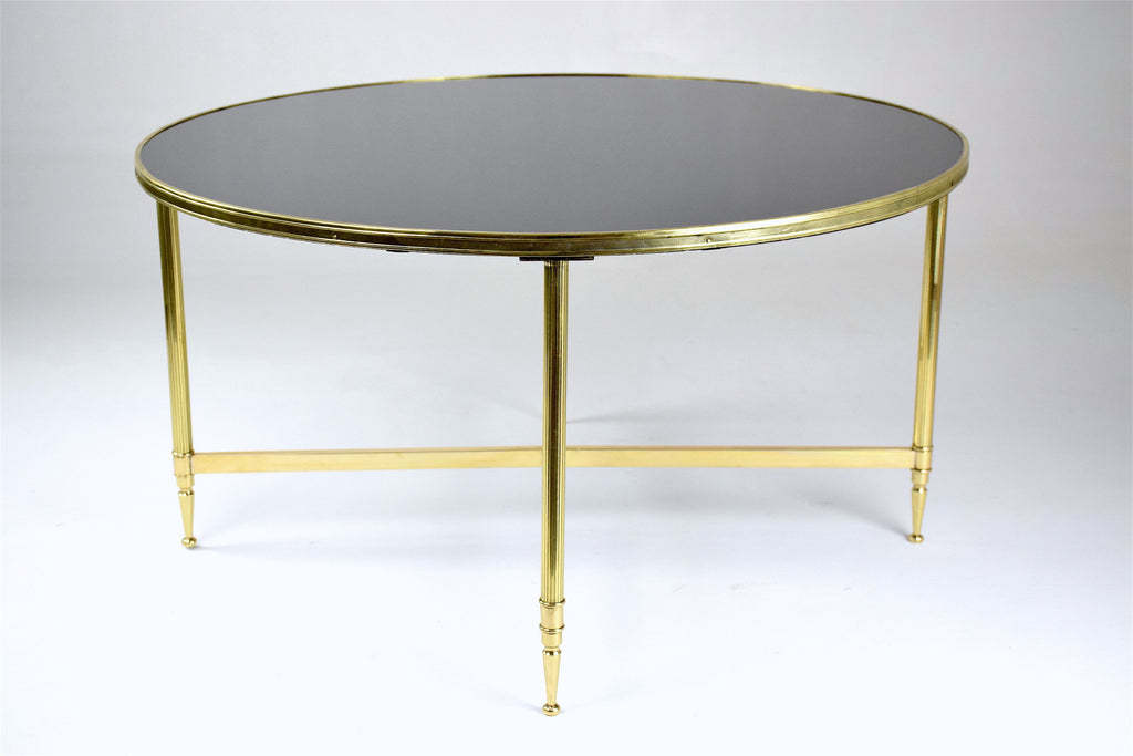 French Mid-Century Bronze Coffee Table, 1970's - Spirit Gallery