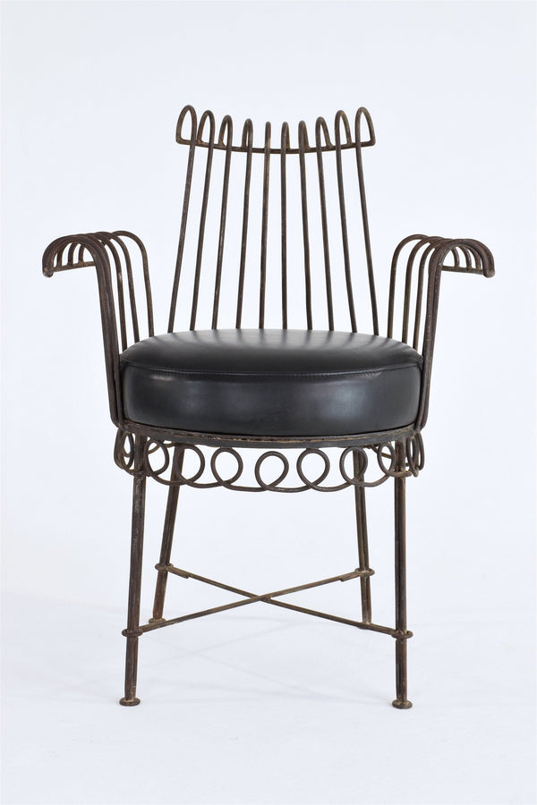 French Mid-Century Cap d'Ail Chair by Mathieu Matégot, 1950's - Spirit Gallery