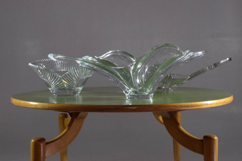 Shop French Sculptural Vintage Crystal Centerpiece, 1960-1970's - Spirit Gallery