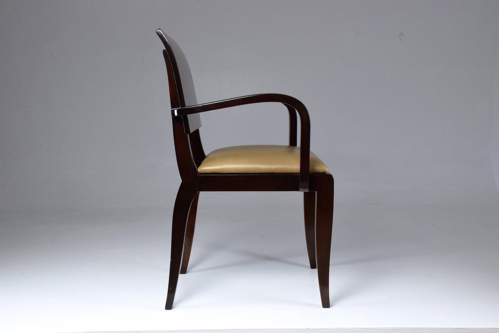 French Vintage Art Deco Armchair, 1940's - Spirit Gallery