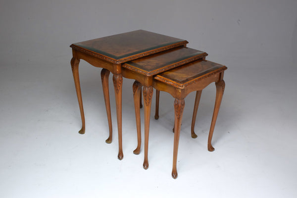 Shop French Vintage Circassian Nesting Tables, 1960-1970's - Spirit Gallery