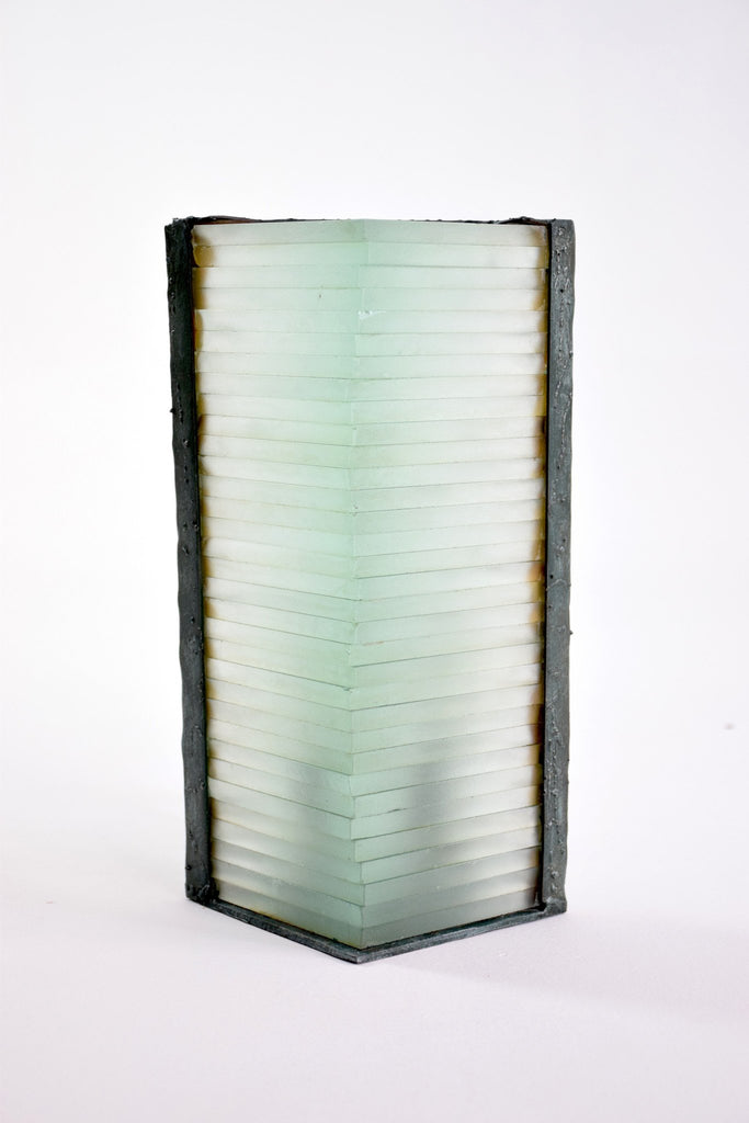 Shop French Vintage Frosted Glass Table Lamp by Marco de Gueltzl, 1980's - Spirit Gallery