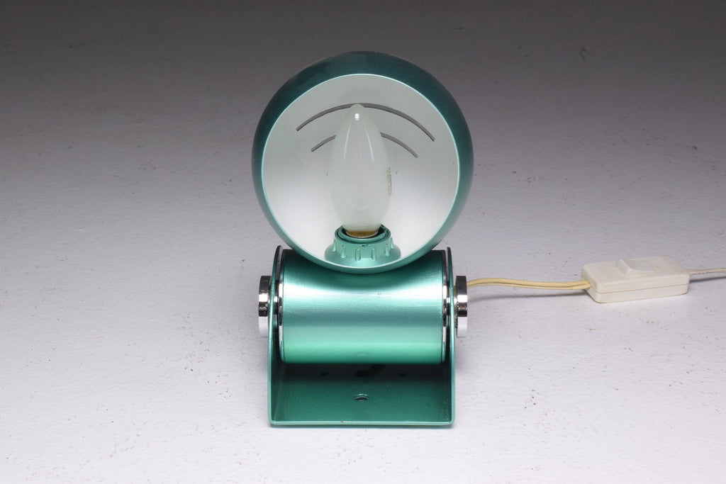 French Vintage Rotating Green Desk Lamp, 1960's - Spirit Gallery