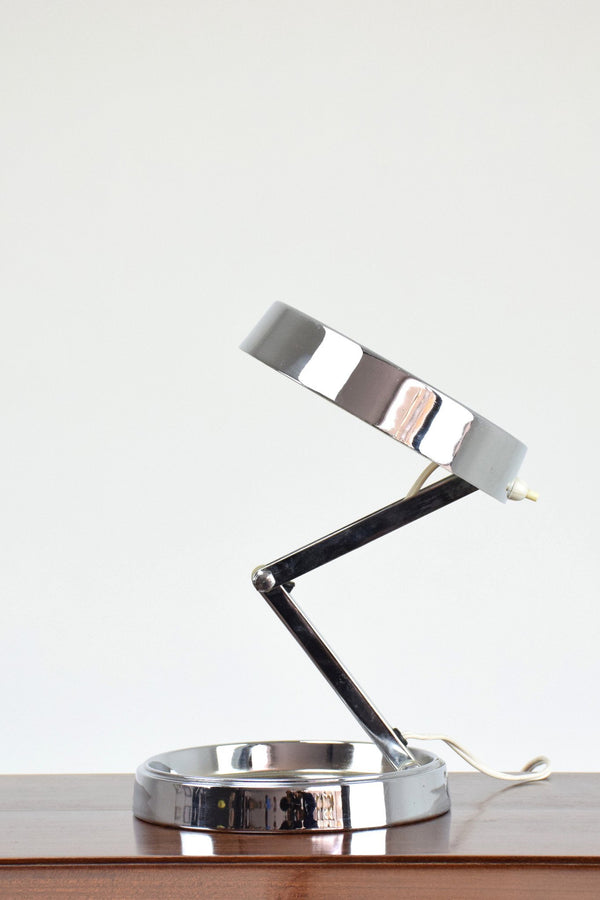 Industrial Articulating Desk Lamp by GEI, Spain, 1970's - Spirit Gallery