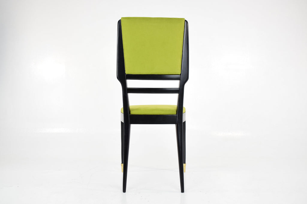 Shop Italian Mid-Century Dining Chairs, Set of Six, 1950's - Spirit Gallery