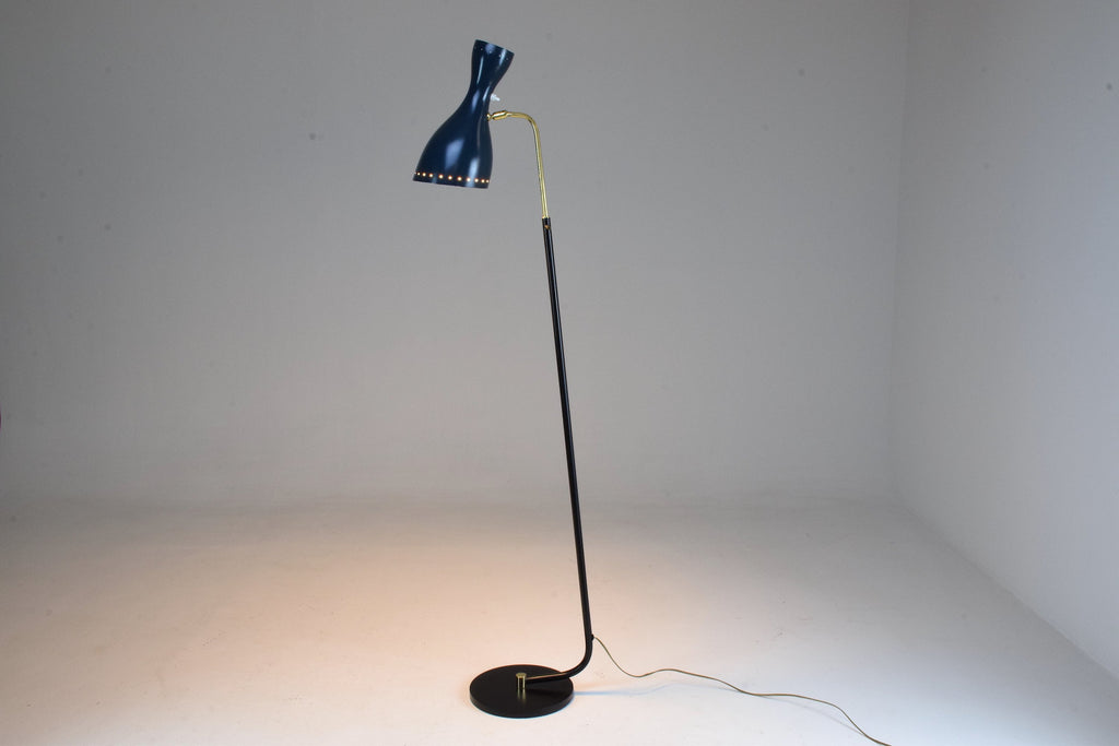 Italian Mid-Century Floor Lamp by Stilnovo , 1950's - Spirit Gallery