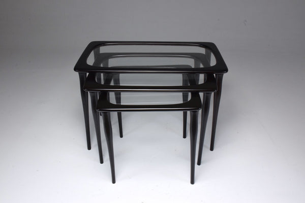 Shop Italian Mid-Century Nesting Tables by Ico Parisi, 1950's - Spirit Gallery