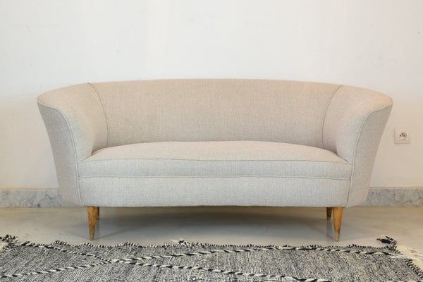 Shop Italian Mid-Century Sofa Attributed to Gio Ponti, 1950's - Spirit Gallery