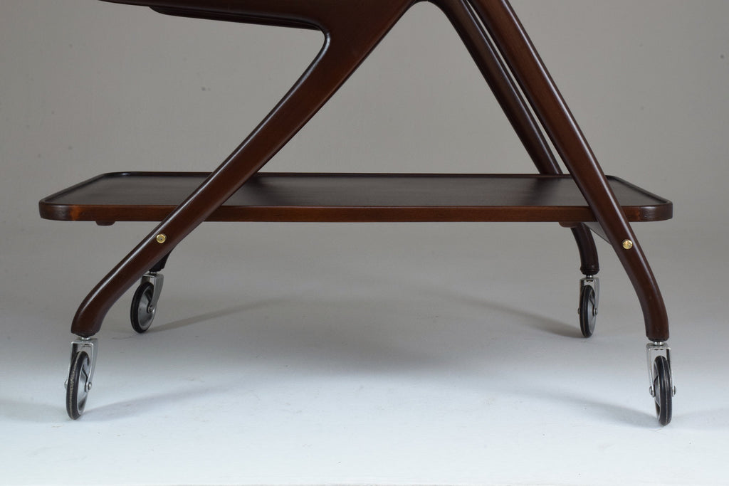 Italian Mid-Century Vintage Bar Cart by Ico Parisi - Spirit Gallery