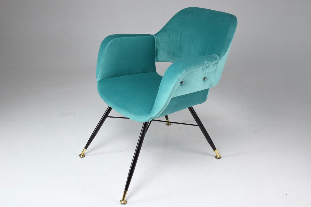 Italian Midcentury Armchairs, Set of Two, 1950s - Spirit Gallery