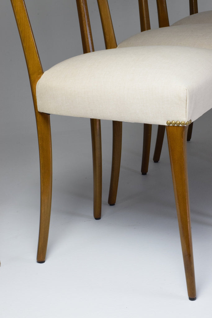 Italian Midcentury Dining Chairs, Set of 6, 1950s - Spirit Gallery