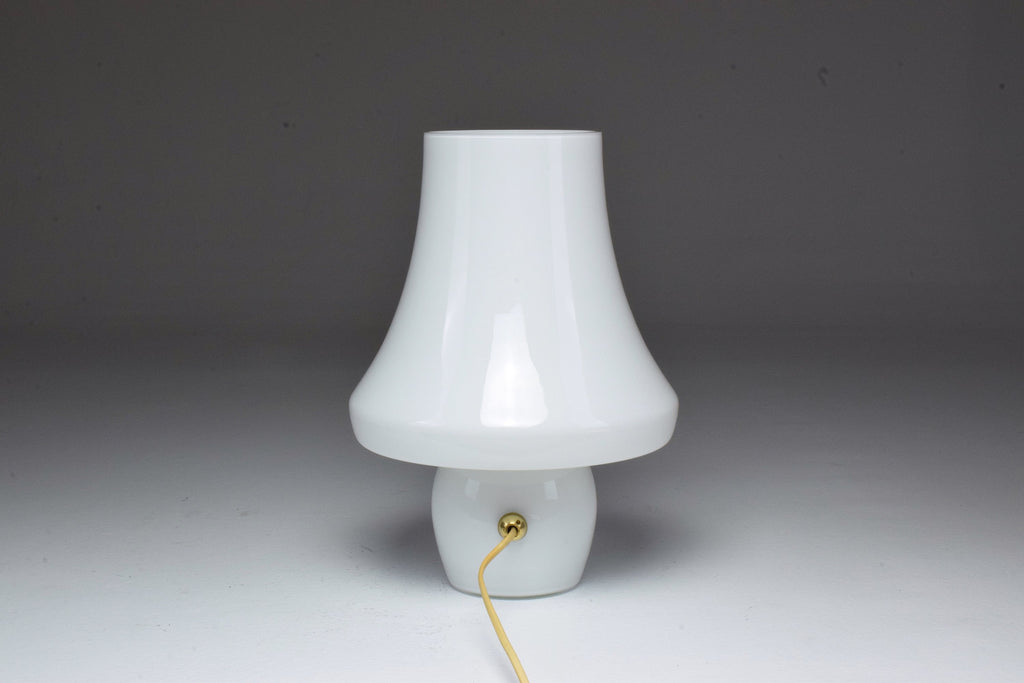 Italian Midcentury Murano Glass Table Lamp by Carlo Nason - Spirit Gallery