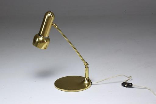 Shop Italian Midcentury Vintage Brass Articulating Lamp, 1950s - Spirit Gallery