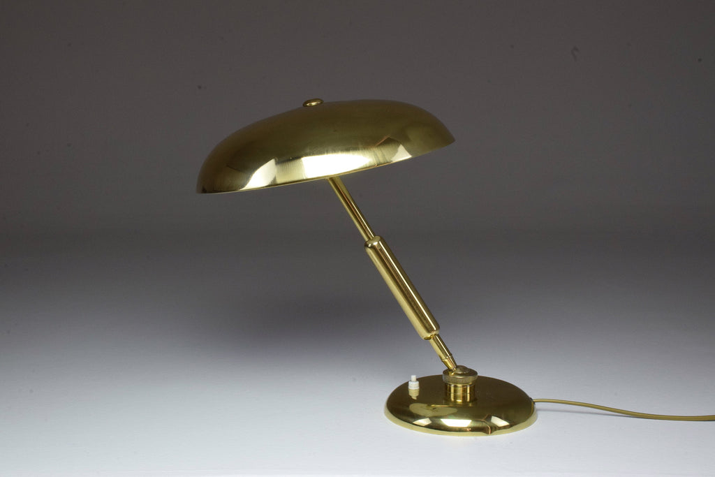 Shop Italian Vintage Brass Lamp by Oscar Torlasco, 1950's - Spirit Gallery