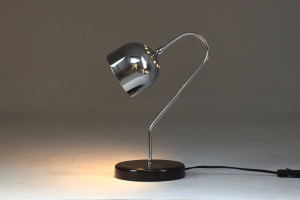 Italian Vintage Chrome Lamp, 1960's - Spirit Gallery